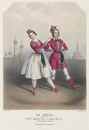 Lot 2025, Auction  110, Grisi, Carlotta,  La Polka Danced by Mademoiselle Carlotta Grisi & Monsieur Perrot
