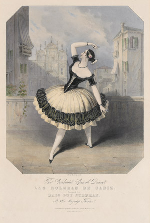 Lot 2027, Auction  110, Guy-Stéphan, Marie, The Celebrated Spanish Dance