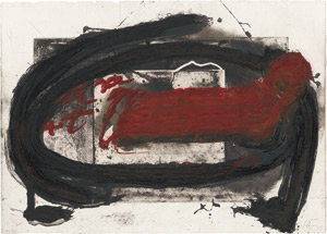 Lot 8333, Auction  110, Tàpies, Antoni, Oval