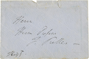 Lot 2372, Auction  111, Liszt, Franz, Brief 1861 an Friedrich Preller