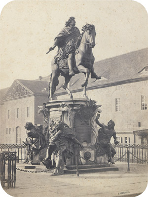 Lot 4003, Auction  111, Ahrendts, Leopold, Equestrian statue of the Great Kurfürst
