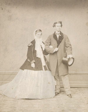 Lot 4005, Auction  111, Albert, Joseph, King Ludwig II and his fiancée Sophie Charlotte