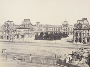 Lot 4011, Auction  111, Baldus, Edouard-Denis, Place Napoleon III et Carrousel, Paris