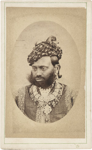 Lot 4019, Auction  111, British India, Portraits of Maharajas and rulers of India