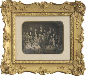 Lot 4034, Auction  111, Daguerreotypes, Golden wedding anniversary of the Magnus family, Bremen