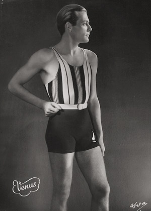 Lot 4378, Auction  111, Yva, Man in Venus bathing suit