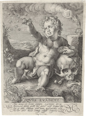 Lot 6309, Auction  111, Goltzius, Hendrick, Quis evadet