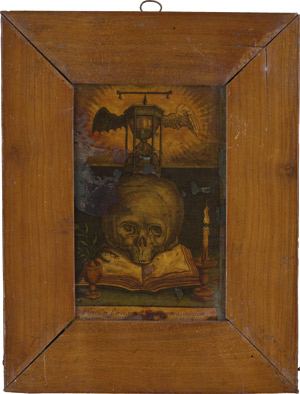 Lot 6313, Auction  111, Spanisch, frühes 18. Jh. Memento mori