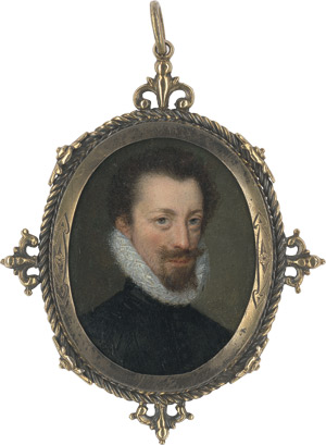 Lot 6818, Auction  111, Französisch, um 1550/60. Bildnis Claude de L'Aubespine