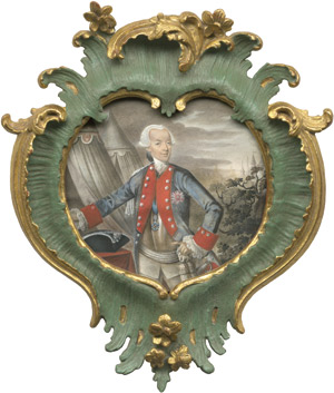 Lot 6829, Auction  111, Deutsch, 1782. Bildnis Christoph Franz, Baron von Khronegg (1718-1786) in Uniform