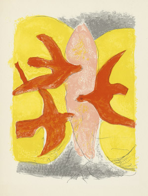 Lot 3055, Auction  112, Jouhandeau, Marcel und Braque, Georges - Illustr., Descente aux enfers