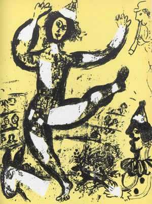 Lot 3076, Auction  112, Cain, Julien und Chagall, Marc - Illustr., Chagall Lithographe