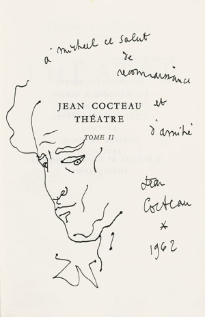 Lot 3091, Auction  112, Cocteau, Jean, Théatre