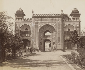 Lot 4019, Auction  112, British India, Views of Agra and Taj Mahal