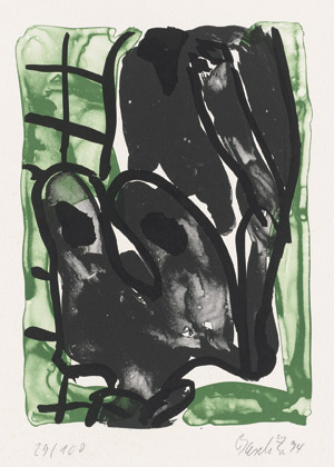 Lot 7018, Auction  112, Baselitz, Georg, Weiblicher Akt