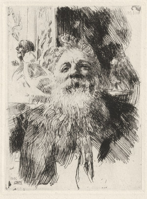Lot 7402, Auction  112, Zorn, Anders, Auguste Rodin