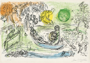 Lot 8055, Auction  112, Chagall, Marc, Le Concert