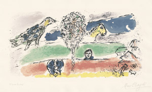 Lot 8058, Auction  112, Chagall, Marc, Le Fleuve vert