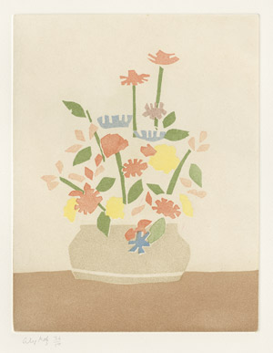 Lot 8126, Auction  112, Katz, Alex, Windflowers in Vase