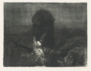 Lot 8143, Auction  112, Kollwitz, Käthe, Schlachtfeld