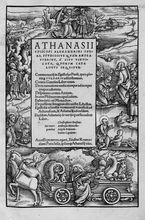 Lot 1023, Auction  113, Athanasius Alexandrinus, Opera