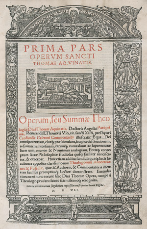 Lot 1271, Auction  113, Thomas von Aquin, Operum seu Summa Theologiae