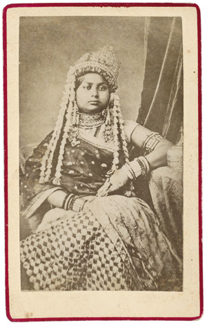 Lot 4018, Auction  113, British India, Portraits of women and Nautch girls