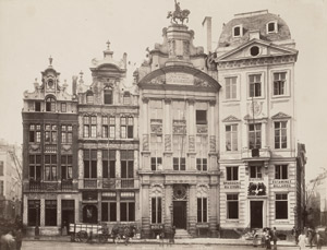 Lot 4026, Auction  113, Brussels/Antwerp, Views of Brussels and Antwerp