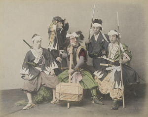 Lot 4044, Auction  113, Japan, Views of people, landscapes and temples of Japan