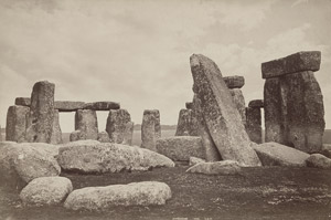 Lot 4078, Auction  113, Washington Wilson, George, View of Stonehenge