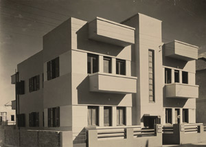 Lot 4084, Auction  113, Bauhaus, Views of various modern buildings of the White City, Tel Aviv