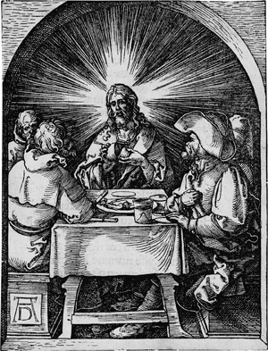 Lot 5078, Auction  113, Dürer, Albrecht, Christus in Emaus