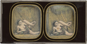 Lot 4019, Auction  114, Daguerreotypes, Reclining semi-nude woman
