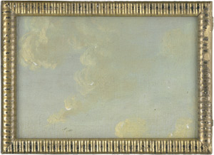 Lot 6019, Auction  114, Französisch, 18. Jh. Wolkenbilder