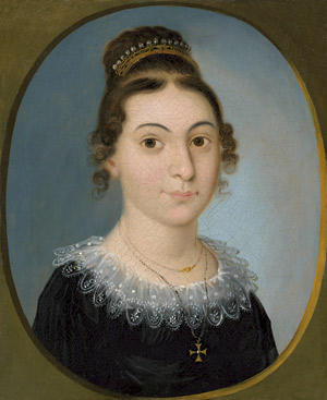 Lot 6090, Auction  114, Schlesinger, Jakob, Portrait der Catarina Elisabeth Braunwart