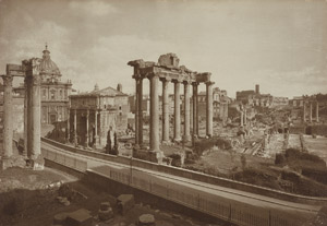 Lot 4003, Auction  115, Anderson, Domenico, View of the Forum Romanum; View of St. Peter's Basilica over the Tiber River