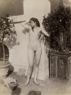 Lot 4024, Auction  115, Gloeden, Wilhelm von, Female nude