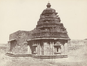 Lot 4028, Auction  115, India, Landscapes and temples of India