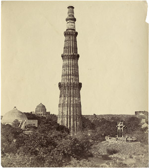 Lot 4029, Auction  115, India, The Qutub Minar, Delhi and other views of India