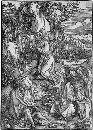 Lot 5066, Auction  115, Dürer, Albrecht, Christus am Ölberg