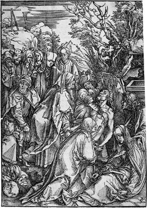 Lot 5067, Auction  115, Dürer, Albrecht, Die Grablegung Christi
