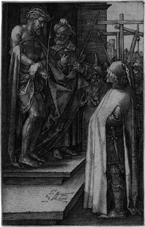 Lot 5077, Auction  115, Dürer, Albrecht, Die Schaustellung (Ecce homo)