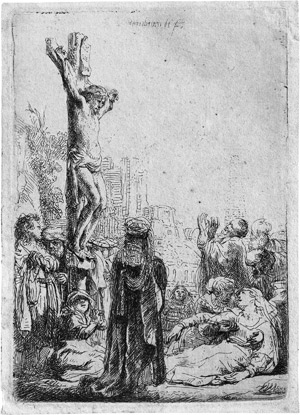 Lot 5177, Auction  115, Rembrandt Harmensz. van Rijn, Christus am Kreuze (kleine Platte)