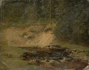 Lot 6087, Auction  115, Piepenhagen, August Friedrich, Waldbach