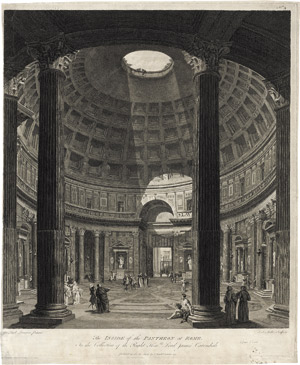 Lot 6241, Auction  115, Pannini, Giovanni Paolo - nach, The Inside of the Pantheon at Rome