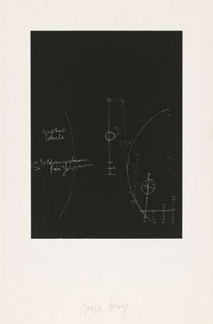 Lot 7018, Auction  115, Beuys, Joseph, Tafel I