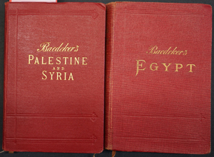 Lot 60, Auction  116, Baedeker, Karl, Palestine and Syria + Egypt