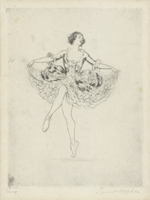 "Lot 3078, Auction  116, Oppler, Ernst und Pawlowa, Anna, Anna Pawlowa in ""La Fille mal gardée"""